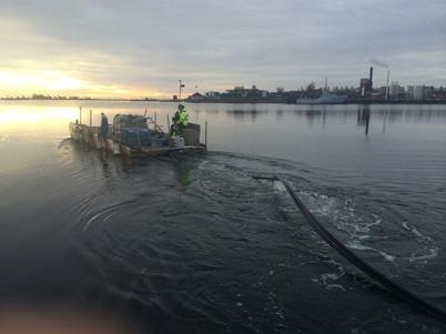 Arbetsflotten ERIK ca 8x3 m