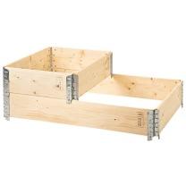 Pallkrage trä 1200x800x200 mm