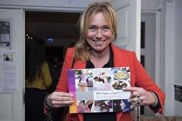 Anne Lundberg på boksläppet
