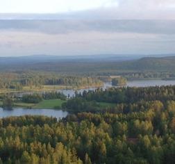Utsikt från Mörtaberget
