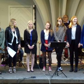 Publiken tackade Kulturskolans elever och storband för en härlig kväll i Musikens Tecken.