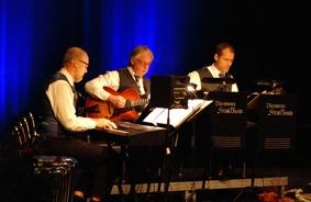 Piano : Magnus Eklöv. Gitarr : Leif Hedman. Bas : Tobias Redborn