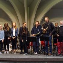 Västerviks Storband och Kulturskolans elever 2017