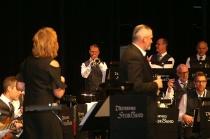 Mats Nilsson var en av kvällens trumpetsolister