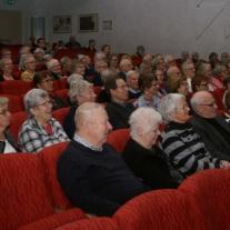 Och det är det ,en hel del publik