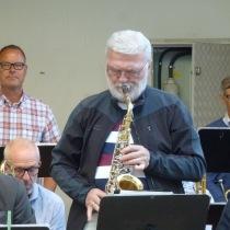 Kvällens saxofonsolist , Jan Kupiec