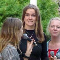 """Westbay Sisters"" Amanda Sandberg, Alice Erlandsson och Linnea Wignell"
