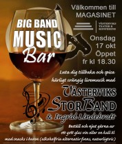 Big Band Music Bar 17 okt 2018+