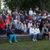 Publiken är samlad, och konserten med Storbandet och kulturskolans elever kan börja