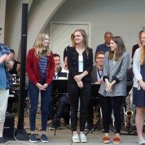 Kulturskolans duktiga elever ,Otto Enström , Alva Schön , Alice Erlandsson , Amanda Sandberg , Katja Strandberg , saknas gör Savanna Kolaj