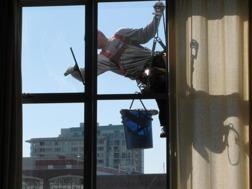Fönsterputsning i Höör