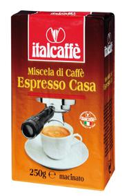 Italcaffè Espresso Casa. - Italcaffè Espresso Casa 250g.