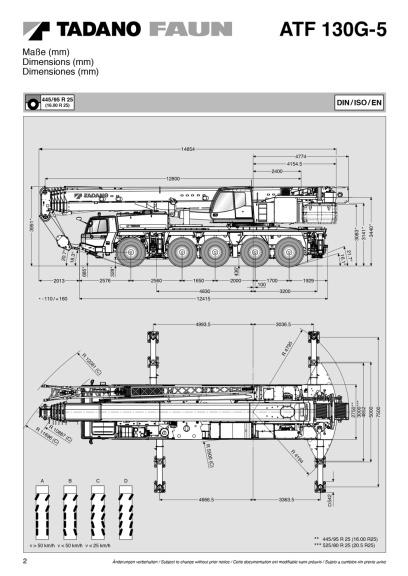 Tadano ATF 130 G-5, Mobilkran, kranbil, lyftkran, Translast, Gotland