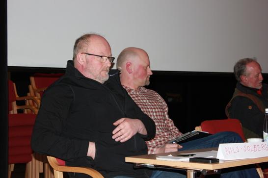 Nils Solberg, Folkeaksjonen ny rovdyrpolitikk, Daniel Bäckström (C) kommunalråd, Göran Karlsson, Rädda Jakten