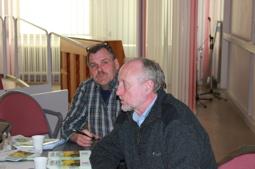 Fr.h. Göran Karlsson och Ronny Wester,     Rädda Jakten
