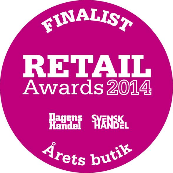 Almedalsmagasinet är en av tre finalister till Årets Butik i Retail Awards 2014