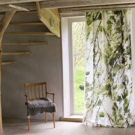 Tyg: Leaves grön - Studio Bjarka/Foto & Styling: Studio Bjarka