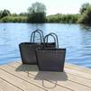 Paketpris 2 st Sweden Bag - Väska 1 st stor SVART + 1 st liten SVART