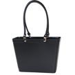 Sweden Bag - Liten - Svart med svarta läderhandtag