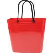 Cykelkorg för pakethållaren - Stor - Röd med original handtag
