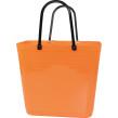 Cykelkorg för pakethållaren - Stor - Orange med original handtag