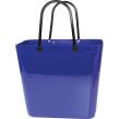 Cykelkorg för pakethållaren - Stor - Blå med original handtag