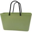 Sweden Bag - Stor - Green Plastic - Reed Green / Naturgrön med original handtag
