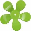 Väggkrok Blomma - Grön