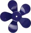 Väggkrok Blomma - Blå