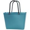 Sweden Bag - Liten - Teal blå med original handtag