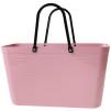1950 Original - Perstorp Design - Green Plastic - Väska Dusty Pink med original handtag
