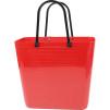 Cykelkorg för pakethållaren - Röd med original handtag