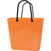 Cykelkorg för pakethållaren - Orange med original handtag