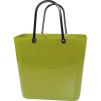 Cykelkorg för pakethållaren - Stor - Olivgrön med original handtag