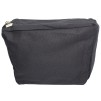 Canvas inner bag - Small, with pocket - Black inner bag SMALL