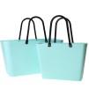 Paketpris 2 st Sweden Bag - [Väska i greenplastic Pepparmint 1 st stor och 1 st liten