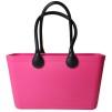 Stor väska med läderhandtag - Magenta Sweden Bag Stor med långa handtag