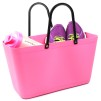 Paketpris 2 st Sweden Bag - Väska 1 st stor Rosa + 1 st Liten Svart