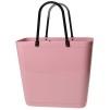 Cykelkorg för pakethållaren - Dusty Pink med original handtag