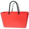Sweden Bag - Stor - Green Plastic - Fiesta Red med original handtag