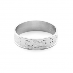 Hälsingering, smal silver 103 pris: 598:-