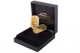 Våra presentkort, guldtackor i olika valörer.