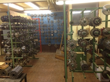 Delar av vår verktygs uppsättning.