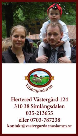 Kontakta & hitta till Västergårdarnas gris & fårfarm