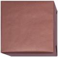 154217 Presentpapper  Ribbat Brunt med brun baksida.(57cm. 38cm.200m.)
