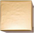 15209 Presentpapper Blankbestruket 19,38,57,95cm.Guldfärgat slätt papper med vit baksida. 153m.