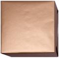 152017 Presentpapper 57cm. 38cm.Pärlemor Brons färgat matt papper med vit baksida. 153m.