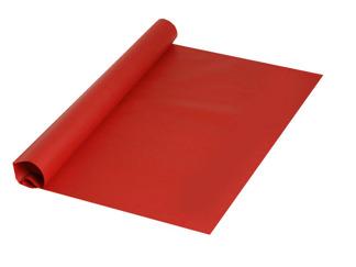 Silkespapper Rött