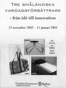 Småländs uppfinningar däribland glidlakan