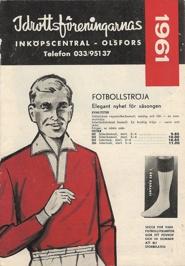 Första katalogen 1961